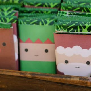 Make some Rudolf wrapped chocolates for Christmas