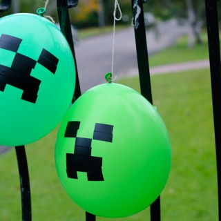 Minecraft party games (do not try this at home)