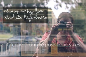 Photography for beginners - series