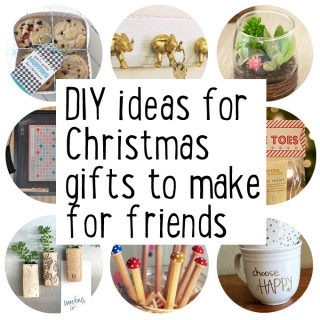 Collected | Make some Christmas gifts for friends