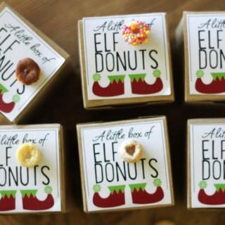 Cute Class Gift | Elf donuts