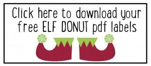 Elf donuts pdf labels