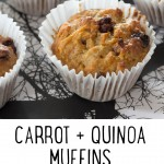 Carrot and Quinoa Muffin Recipe - an easygoing recipe with a big nutrition punch