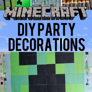 The Best DIY Minecraft Party Decorations (especially on a budget)