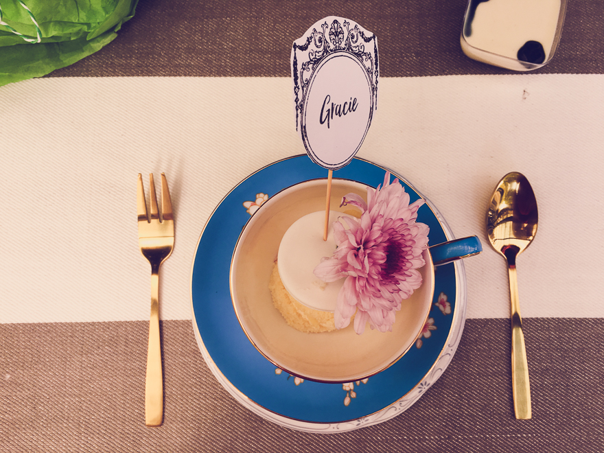 Alice in Wonderland Party on a budget - pretty op-shop tea cups