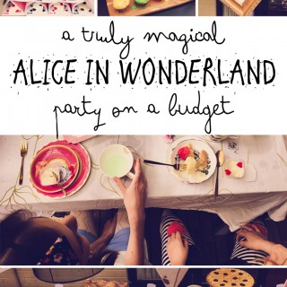 A magical Alice in Wonderland party (on a budget)