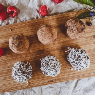 Raspberry rum balls for Christmas [+ an amazing FREE Christmas cookbook]