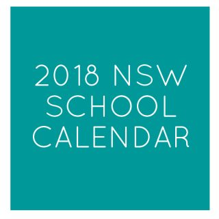 2018 nsw public school holidays calendar